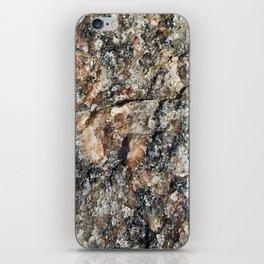 Stone background iPhone Skin