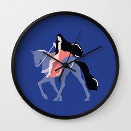 lady godiva Wall Clock