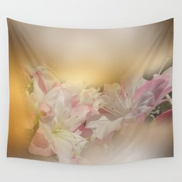 Window Curtains - Smell the Flowers Wall Tapestry