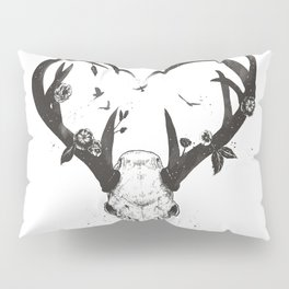 Neverending love (bw) Pillow Sham