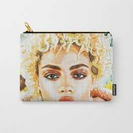 Miss Sunflower Carry-All Pouch