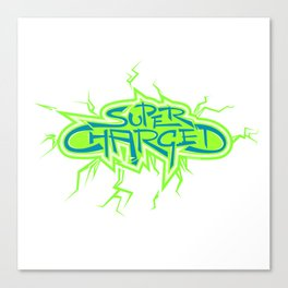 Super Charged High Canvas Print