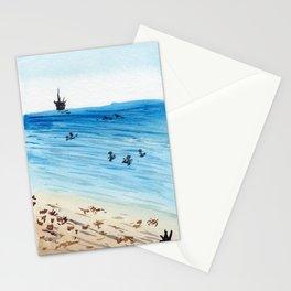 Bolsa Chica Beach, California Summertime Surf Stationery Cards