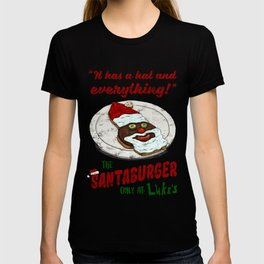 Santa Burger T-shirt