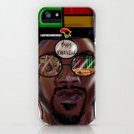 Kwanzaa King iPhone Case
