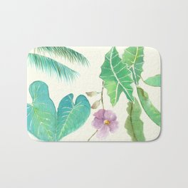 Tropical Combo Ivory (High Resolution) Bath Mat