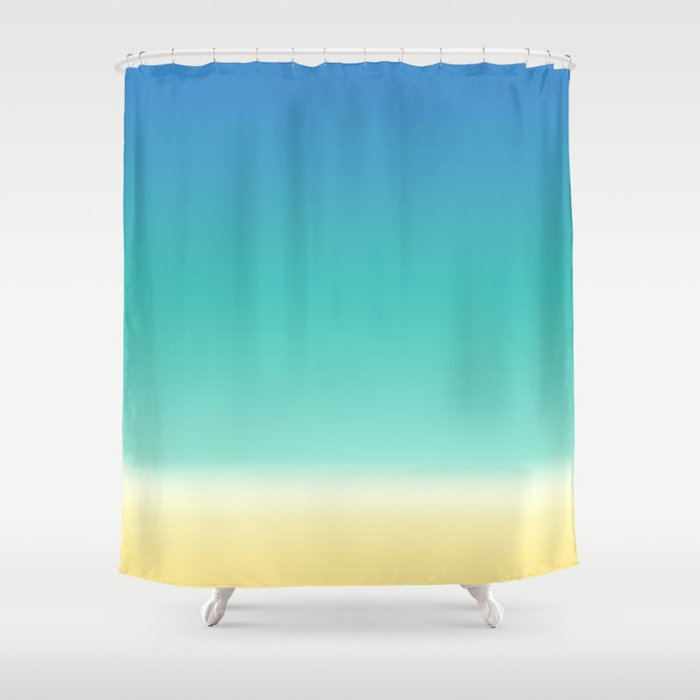 Sea Beach Shower Curtain by cutepatternstextures | Society6