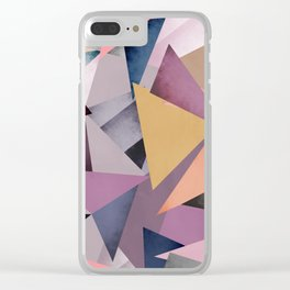 Fragments 1 Clear iPhone Case