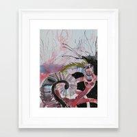 scandal Framed Art Prints featuring Scandal by Karolina Dalk