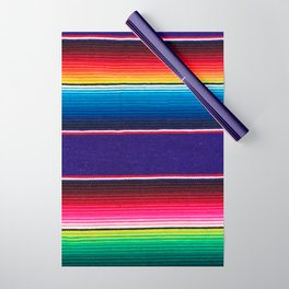 Serape of Mexico Wrapping Paper