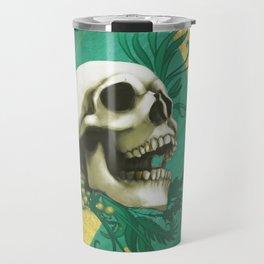 Peridot - Skull design Travel Mug