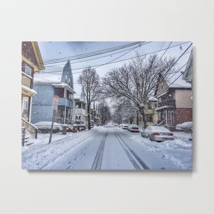 Snow Daze Metal Print