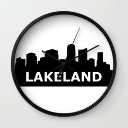 Lakeland Skyline Wall Clock