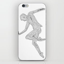 Dancing with myself - unfinished dream iPhone Skin