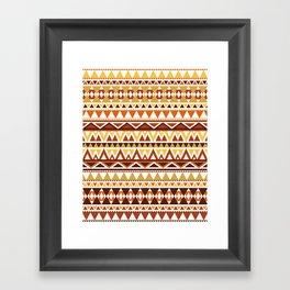 Aztec 1 Framed Art Print
