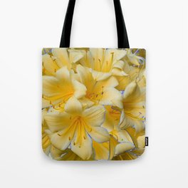 IVORY COLOR CLIVIA FLOWERS Tote Bag