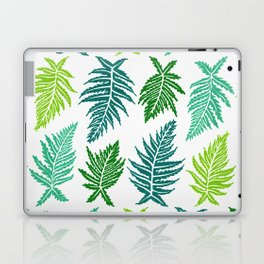 Inked Ferns – Green Palette Laptop & iPad Skin