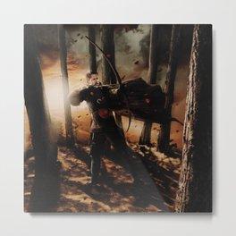 Character Poster Series - Robin Hood Metal Print