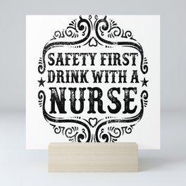 Safety First Mini Art Print