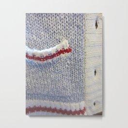 Sweater Metal Print