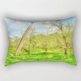 The Lone Crow Rectangular Pillow