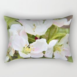 Apple Blossoms by Reay of Light Rectangular Pillow