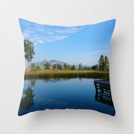 reflection of soul Throw Pillow