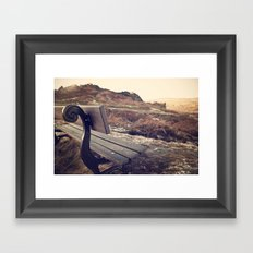The Sitting Place Framed Art Print