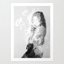 Smirk Art Print