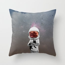 atmosphere · cats & dogs Throw Pillow