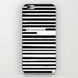 Alternative Facts Cyrillic iPhone Skin