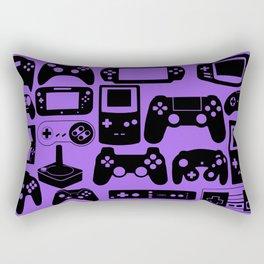 Retro Controllers  Rectangular Pillow