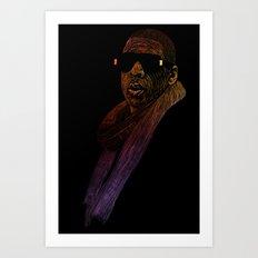Jay-Z Color Art Print