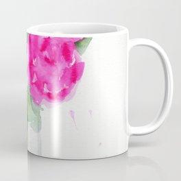 Peonies in a Vase Coffee Mug