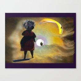 Moon Glide Canvas Print