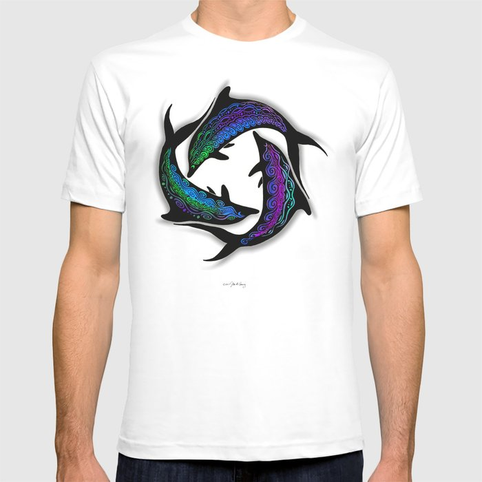 DOLPHINS CIRCLE T-shirt