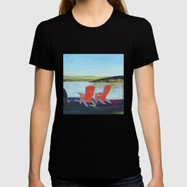 lakeview chairs - by phil art guy T-shirt