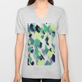 Abstract pattern 153 Unisex V-Neck