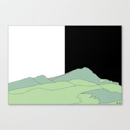 NATURE basque country Canvas Print