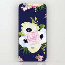 White bouquet iPhone Skin