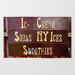 Ice Cream, Sodas, NY Ices, & Smoothies Rug