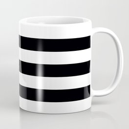 Miami Vice Black Horizontal Tent Stripes Florida Colors of the Sunshine State Coffee Mug