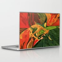 anxiety Laptop & iPad Skins featuring Anxiety by Nima