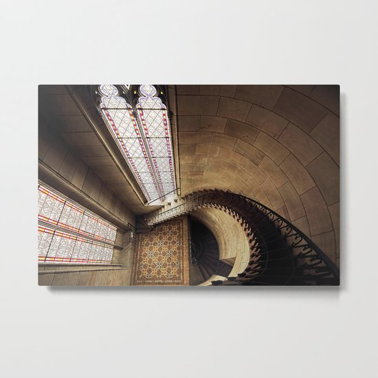 Don't Look Down! Metal Print