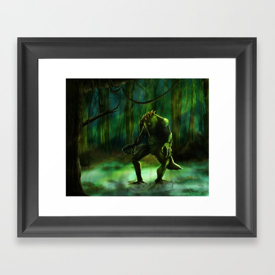 THE SWAMP Framed Art Print