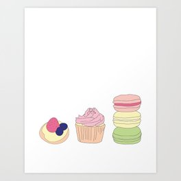 The Art of Baking Art Print