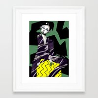 kenzo Framed Art Prints featuring Kenzo by pocococoa