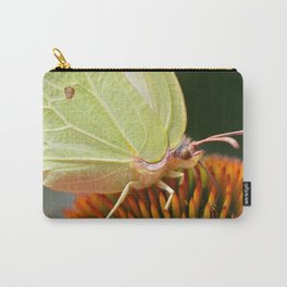 Eye of a yellow butterfly Carry-All Pouch