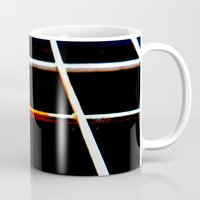 the wire Mugs featuring Rusty Wire by The Wellington Boot