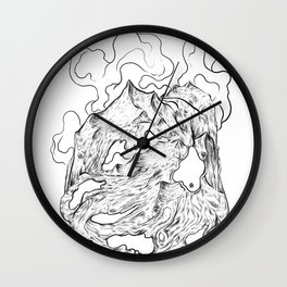 I'm falling apart Wall Clock